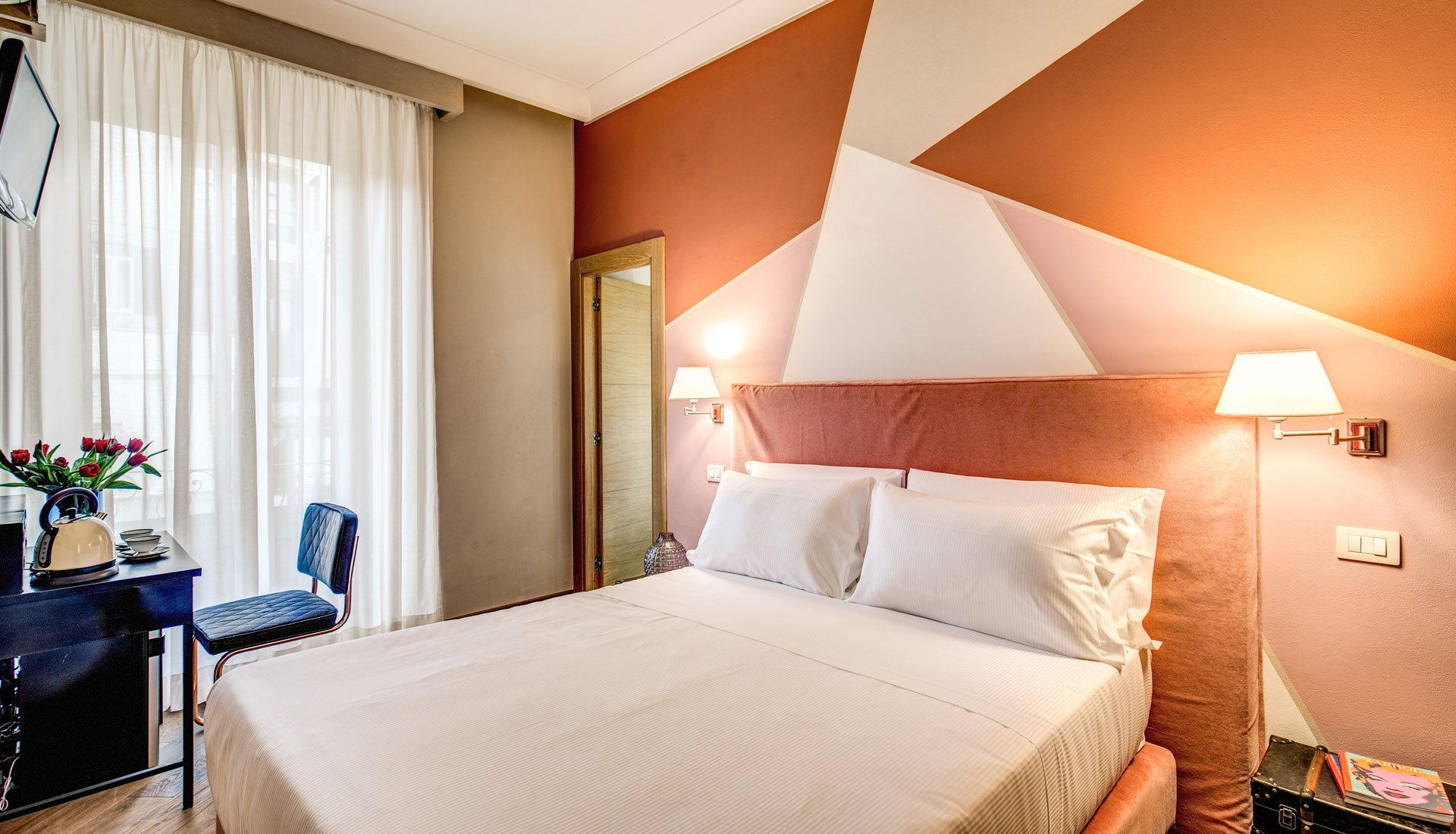 Boutique hotel galatea rome official website for Boutique hotel genova